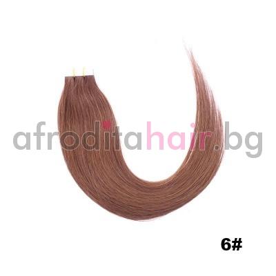 6. Коса на стикери 65 см.