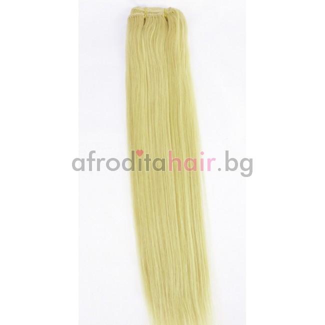 24. Естествена коса