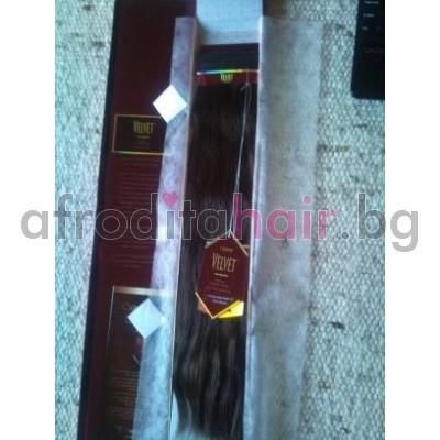 1. Velvet Virgin Human Hair - Indian Remy
