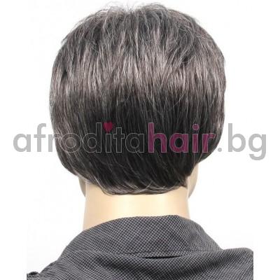 10. Мъжка перука от изкуствена коса