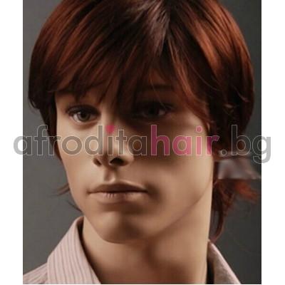 14. Мъжка перука от изкуствена коса