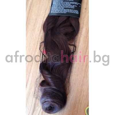 4a. Къдрава изкуствена коса