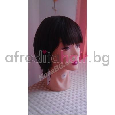 3. Перука от изкуствен косъм