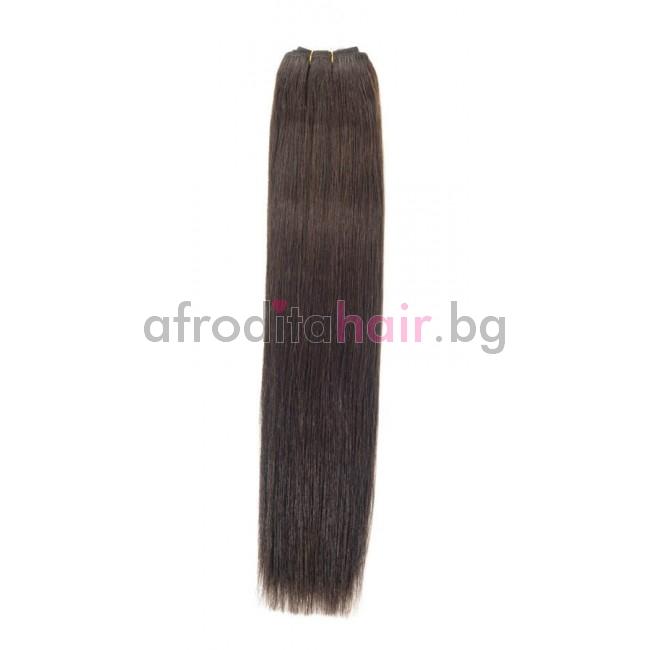 N 2: Естествена коса 45, 50 и 55 см. Широчина на тресата - 80 сантиметра.