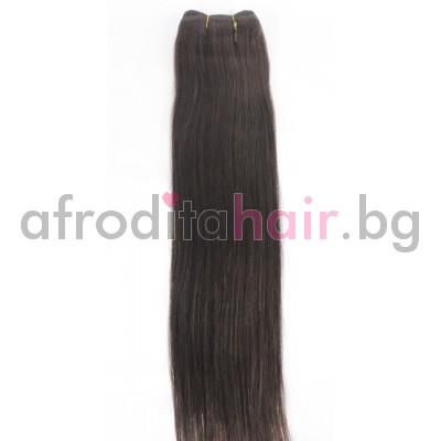 N 3: Естествена коса 45, 50 и 55 см. Широчина на тресата - 80 сантиметра.