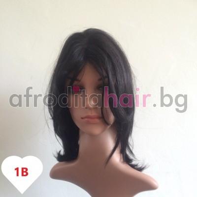 Теодора - Перука от естествен косъм