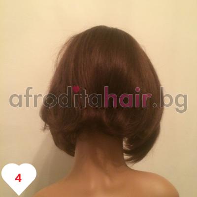 Поля - Перука от естествен косъм