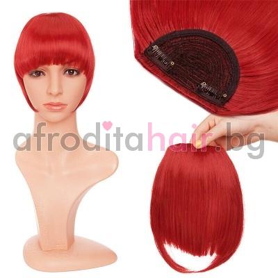 Red - Бретони от 100% Естествена коса