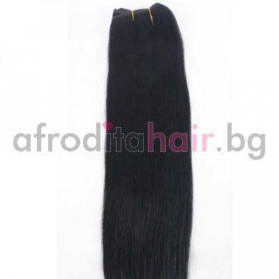 1. Естествена коса на сантиметър