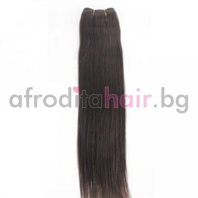 3. Естествена коса на сантиметър