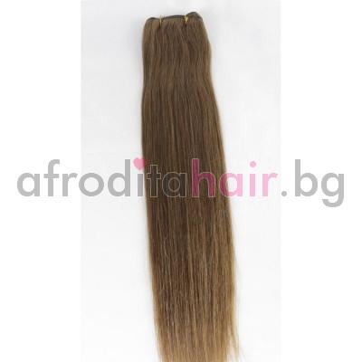 6. Естествена коса на сантиметър